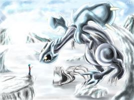 Kyuremu The Ice Legend by Deruuyo