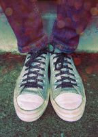 Special Converse by AcceptedOutcast