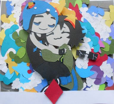Homestuck Meowrails Papercraft by koreandrawer