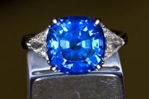 Brilliant Sapphire Ring 1 by AaronPlotkinPhoto