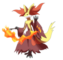 Delphox by shinyscyther
