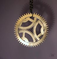 Steampunk pendant 42 by TheCraftsman