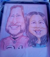 Caricatures: 49er And Asian by KantQontrolMyself