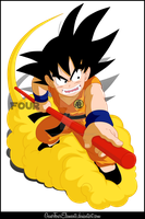 Son Goku by GuverFourElements