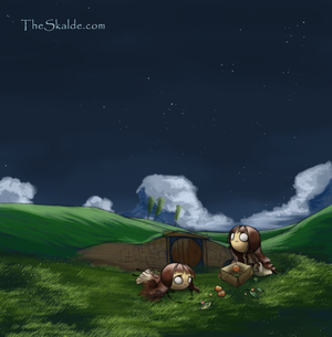 The Sleeping Lazy by theskalde