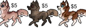 Dog set[PAYPAL] by Figgetywinks
