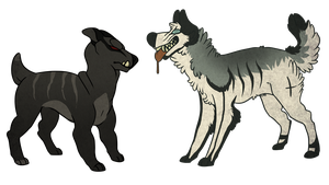 Dog Adoptables 1 by Fells-Adopts