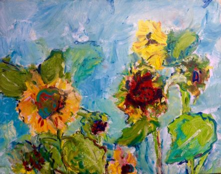 Sunflowers Lefebvre by LaurieLefebvre
