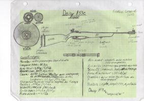 Daisy 853c air rifle by Tireurdelits