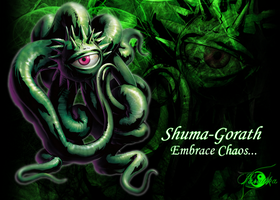 Shuma-Gorath Wallpaper by ParawkaSaiyan64