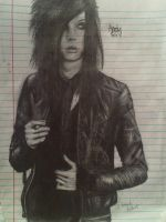 Andy Biersack by Cowbacon