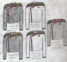 Dress Uniforms Staff A by Lord-Malachi