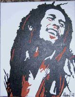 bob marley by forcerkid