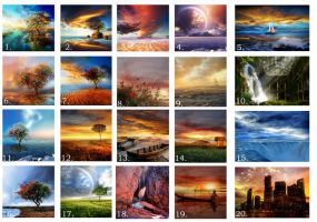 Calendar image selection by Teodora-Chinde