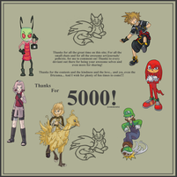 Thanks... For 5000 by The-Greatest-Mystery