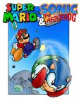 Mario and Sonic by CarlChrappa