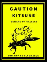CAUTON:KITSUNE by PlainYellowFox