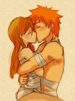 +Ichihime - In your arms+ by Gnomiee
