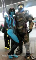 Master Chief finds Cortana at AVCon 2014 by Old-Trenchy