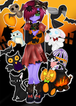 CE: BOO! Part II: Halloween Stormy by susanandb2st