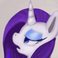 Rarity (30 min challenge) by blackcosmogirl
