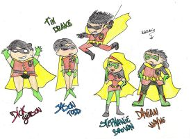 The legend of Robin by Red69Robin