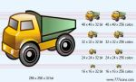 Lorry Icon by phorago