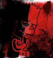 El Barto by deviouscreator