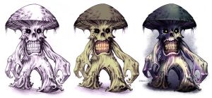 Deathcap Myconid Process by D-MAC