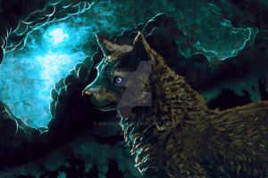 No howl at the moon by Anjali2010