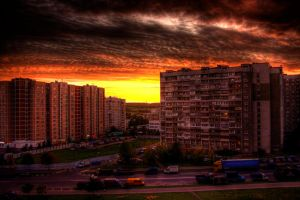 The last sunset by Elfonco