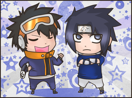CM - Obito and Sasuke by FancyPancakes