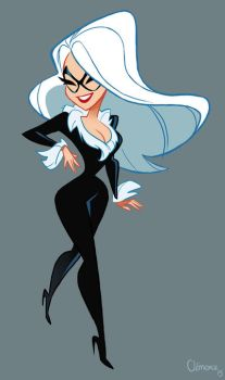 Black Cat by ClemCyza