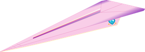 Princess Cadence Paper Airplane by Cuber4x4
