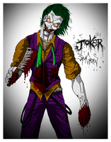 The Joker by SamGreenArt