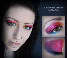 Colour Wheel Make-Up by she-sins