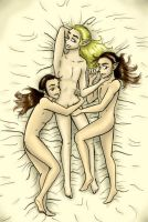 Lord of the Rings Threesome by lovewithoutwalls