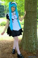 Hatsune Miku Maid Cosplay by SailorSamara