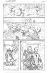 Marvel spidey sample penciled page 3 by JoeyVazquez