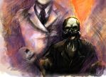 Deadly Premonition Harry S by Marto