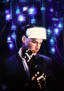 Johnny Mnemonic by tillieke