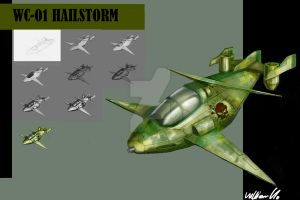 WC-01 Hailstorm  Concept by foofighters111