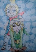 Tetra and Link by Hukkis