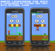 Mario lockscreen for MIUI by fodi666