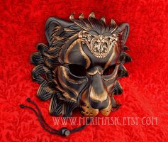 Regal Lion Mask by merimask