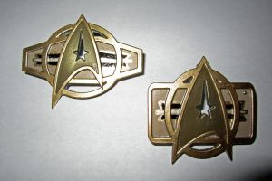 Miniature TWOK Chest Badges by Warrior Cosplay by galaxy1701d
