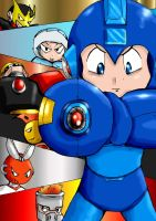 Megaman 1 Poster by Fragraham