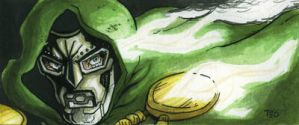Doctor Doom - MooMinicard by Av3r