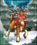 Rudolph, the reindeer by Shivita