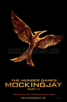 The Hunger Games: Mockingjay Part 2 - Poster by XEzeX